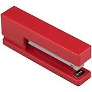 JAM Paper® Desk Supplies Kit, Red, Stapler, Tape Dispenser & Pen Holder, 3/Pack (337841RE)