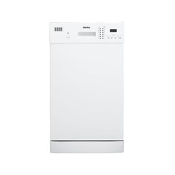 Danby Built-In Dishwasher, White (DDW1804EW)