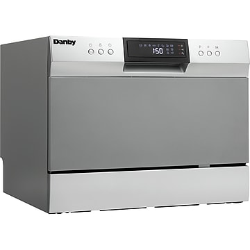 Danby Countertop Dishwasher, Stainless (DDW631SDB),Size: med