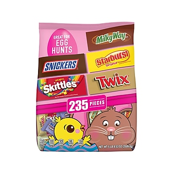 Mars Easter Mix Candy Bag, Variety Mix, 88.53 Oz.