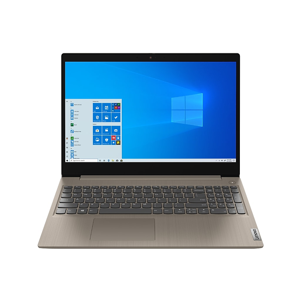 "Lenovo IdeaPad 3 15IML 81WB 15.6"" Notebook, Intel Pentium, 4GB Memory, 1TB Hard Drive, Windows 10 (81WB0002US)"