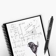 """Rocketbook Everlast Smart Reusable Notebook, 8.5"""" x 11"""", Dotted Ruled, 16 Sheets, Midnight Blue (EVR-L-R-CDF)"""