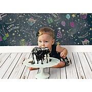 "Dixon Ella Bella Photography Backdrop Paper, 48"" x 12', Assorted Birthday, 4 Rolls (PAC2534)"