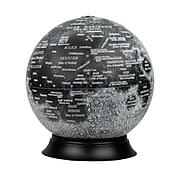 """National Geographic Illuminated Moon Globe, 12"""" Diameter (RE-83522)"""