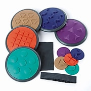 Winther GONGE Children's Sensory Tactile Discs, Set 2, Multicolored, 12-Piece Set (WING2118)
