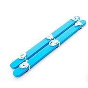 Winther GONGE Wooden Summer Skis 3 Person Balancing Toy, Blue (WING2148)