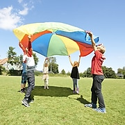 Winther GONGE Polyester Play Parachute for Kids 12', Multicolored (WING2302)