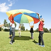 Winther GONGE Polyester Play Parachute for Kids 20', Multicolored (WING2304)