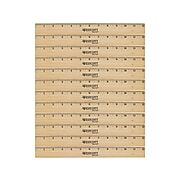 """Westcott® 12"""" Scale Wood Ruler, Beige, 12/Pack (17720)"""