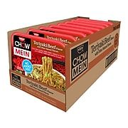 Nissin Chow Mein Noodles, Teriyaki Beef, 4 oz., 8/Carton (70662084731)