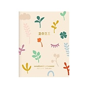 "2020-2021 Fringe 6.88"" x 9.75"" Academic Planner, Leaves (827001)"