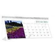 "2021 House of Doolittle 4.5"" x 8.5"" Desk Calendar, Earthscapes Garden, Multicolor (309-21)"