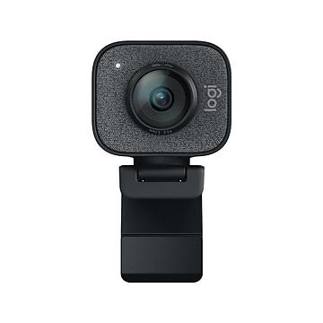 Logitech StreamCam Plus Webcam, Black (960-001280)