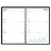 "2021 House of Doolittle 5"" x 8"" Planner, Black (27802-21)"
