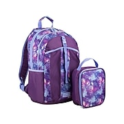 FUEL Deluxe Combo Set Backpack, Artwork, Purple/Violet (119074ST-GX3)