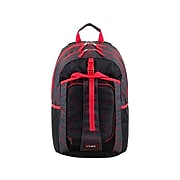 FUEL Deluxe Combo Set Backpack, Geometric, Black/Red/Gray (119074ST-GC1)