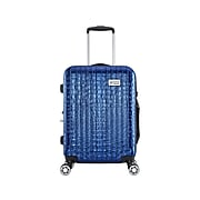 Luggage Tech Nile Polycarbonate 4-Wheel Spinner Luggage, Blue (HLGV3017BL28-88)