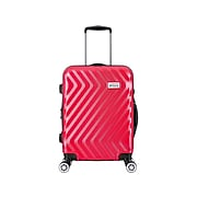 Luggage Tech Monaco Polycarbonate 4-Wheel Spinner Luggage, Red (HLGC3018RD20-88)