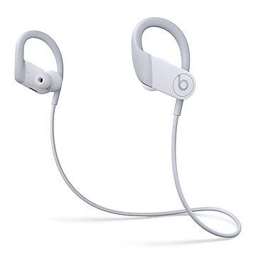 Beats by Dre Powerbeats High-Performance Wireless Bluetooth Earphones, White (MWNW2LL/A)