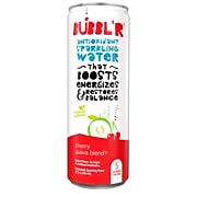 Bubbl'r Antioxidant Sparkling Water, Cherry Guava Blend'r, 12 oz. Can, 12/Pack (WIC39949)