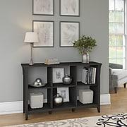 Bush Furniture Salinas 6 Cube Organizer, Vintage Black (SAB148VB-03)