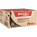 WypAll HydroKnit Fabric Foodservice Cloth, Red, 200/Carton (51639)