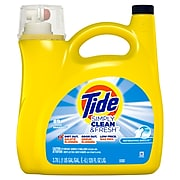Tide Simply Clean & Fresh Liquid Laundry Detergent, Refreshing Breeze, 89 loads 128 fl oz. (89131)