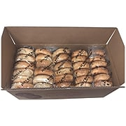 Just Bagels Sliced Bagels, Assorted Flavors, 6/Bag, 5 Bags/Pack (903-00107)