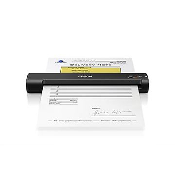 Epson ES-50 Compact Lightweight Sheetfed Mobile Color Document Scanner