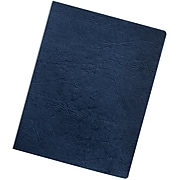 "Fellows Binding Covers, 11-1/4"" x 8-3/4"", Classic Navy, 200/Pack (52136)"