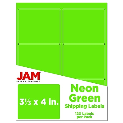 10 Sheets of Each Color Green JMS/® 40 Sheets A4 Neon Paper Creative Fun Yellow Pink Orange