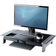 Fellowes Office Suites Premium Monitor Riser, Black/Silver (8031001)