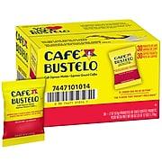 Cafe Bustelo Espresso Ground Coffee, Dark Roast, Fraction Packs, 30/Carton (01014)