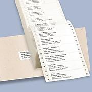 """Avery Dot Matrix Printer Address Labels, 15/16"""" x 3 1/2"""", White, 5000 Labels Per Box (4013)"""