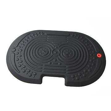 """AFS-TEX® 2000X Black Active Anti-Fatigue Mat, 20"""" x 32"""", Midnight Black (FCA22032XBK)"""