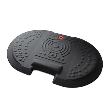 """AFS-TEX® 4000X Black Active Anti-Fatigue Mat, 20"""" x 30"""", Midnight Black (FCA42030XBK)"""