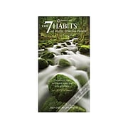 "2021-2022 BrownTrout 3.5"" x 6.5"" Planner, The 7 Habits of Highly Effective People, Clear (9781975418472)"