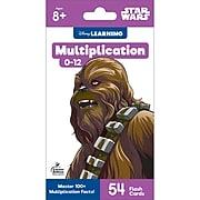 Multiplication 0-12 Star Wars for Grades 3 - 5, 54 cards (734093)