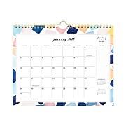 """2021 Blue Sky 8.75"""" x 11"""" Wall Calendar, Harmony Boxes by Jenna Rainey, Multicolor (125280)"""