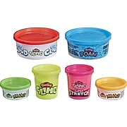 Play-Doh Specialty Compounds, Assorted Colors, 6/Pack (E8796)