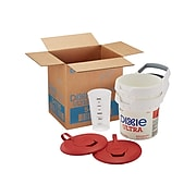 Dixie Ultra Surface System Manual Wipe Dispenser, White/Red (54026)