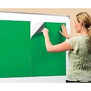 "Educational Insights Quick Stick Instant Flannel Presentation Board, 20"" x 27"", Green (EI-1034)"