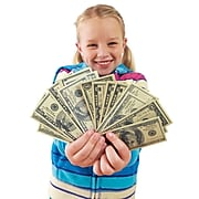 Educational Insights Play Money, Coins & Bills Deluxe Set (EI-3059)