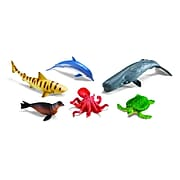 Learning Resources Jumbo Ocean Animals, Set of 6 (LER0696)