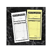 """Cosco Business 2-Part Carbonless Sales Orders Book, 3.38"""" x 7.25"""", 50 Sheets/Book (074014)"""