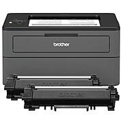 Brother HL-L2370DW XL Bundle Wireless Black & White Laser Printer (HLL2370DWXL)