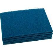 Nilfisk Cleaning Floor Pad, Blue, 5/Pack (997021)