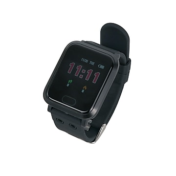 Sunny Health & Fitness Smart Fit Watch (SMW-004B),Size: med