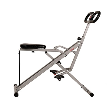 Sunny Health & Fitness Upright Row-N-Ride Rowing Machine (NO. 077),Size: med