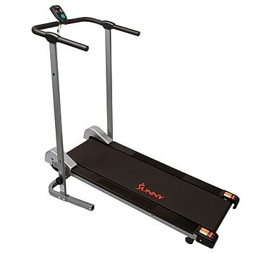 Sunny Health & Fitness Foldable Manual Walking Treadmill (SF-T1407M),Size: small
